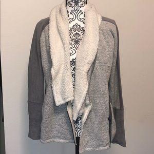 Loft Mixed Media Cozy Sweater